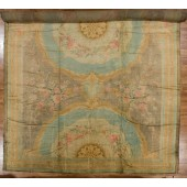 antique savonnrie carpet