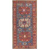 antique kuba chachli rug