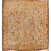 AN ANTIQUE OUSHACK RUG