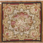 ANTIQUE AUBUSSAN CARPET