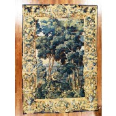 antique verdure tapestry 18th centuyy