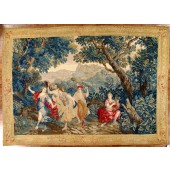 antique bovie tapestry 18th century
